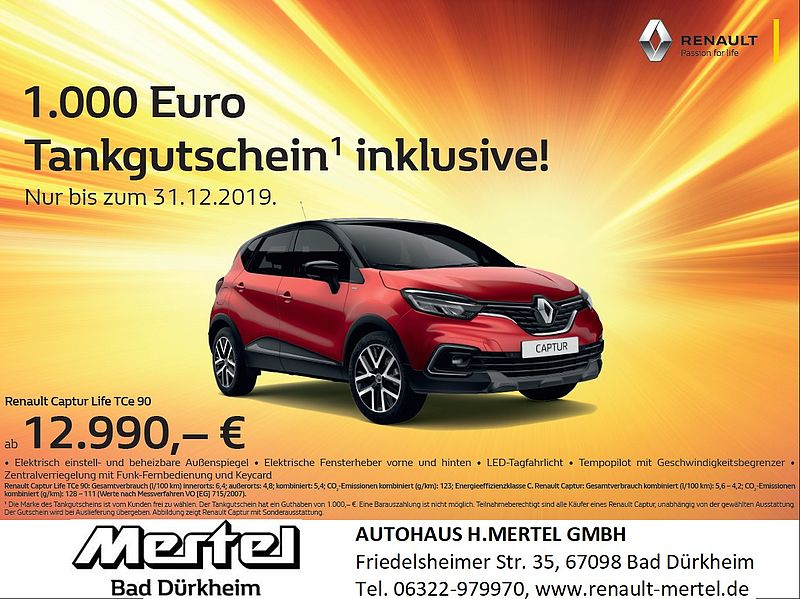 +++ Renault CAPTUR Aktion +++
